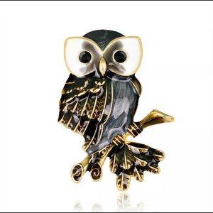 Owl Brooch/Pin